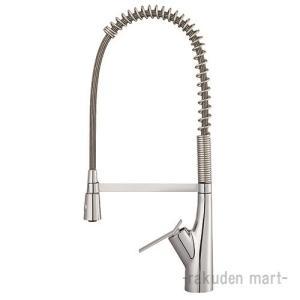 (キャッシュレス5%還元)三栄水栓 SANEI AK8731JVS2-13 シングル混合栓(音声認識...