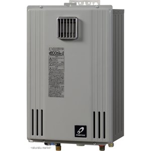 パーパス ガス給湯器 給湯専用 エコジョーズ GSシリーズ 屋外壁掛型  24号 GS-H2400W-1|rakurakumarket