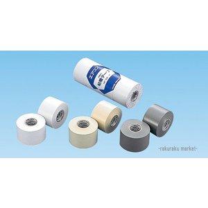 (キャッシュレス5%還元)因幡電工 粘着テープ 標準厚タイプ HF-50-G グレー 【4個セット】|rakurakumarket