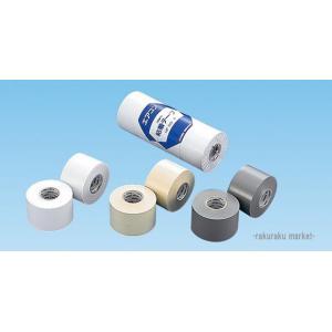 因幡電工 粘着テープ 標準厚タイプ HF-50-W ホワイト 【4個セット】|rakurakumarket