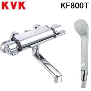 (送料無料)(在庫有)KVK KF800T サーモスタット式シャワー混合水栓 フルメタルシリーズ|rakurakumarket