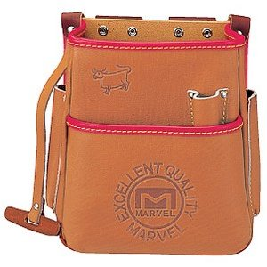 マーベル MARVEL 電工ポケット 高級牛革 腰袋 MDP-210  MDP210 rakurakumarket