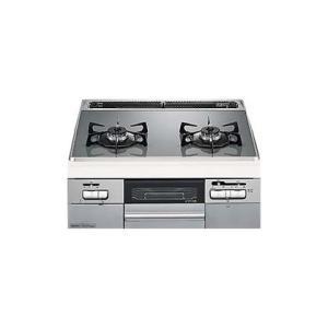 (キャッシュレス5%還元)(法人様宛限定)(送料無料)ノーリツ N2WQ8RWTS6SI 都市ガス用  ビルトインコンロ ファミ 2口タイプ 幅60cm|rakurakumarket