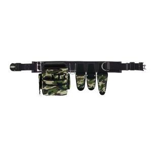 (キャッシュレス5%還元)ジェフコム デンサン NDS-97CC-SET 腰道具セット(迷彩カラータイプ)|rakurakumarket