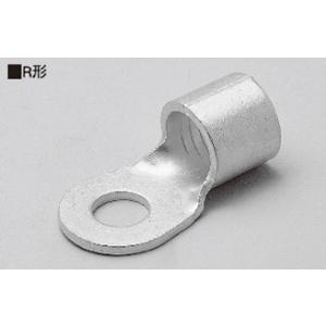 ニチフ 銅線用 裸圧着端子 丸形 R形 R38-16 【50個入】|rakurakumarket