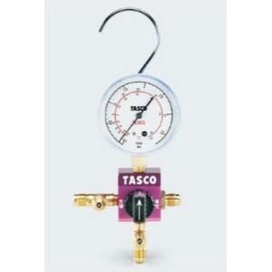 タスコ TASCO TA123C ボールバルブ式シングルゲージマニホールド|rakurakumarket