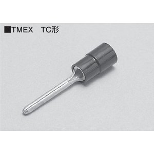 ニチフ 銅線用 絶縁被覆付圧着端子 棒形  TC形 赤 TMEVTC-1.25-11 【100個入】|rakurakumarket