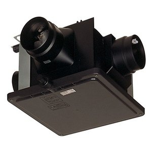 三菱 ダクト用換気扇 中間取付形ダクトファン V-15ZMC6(旧品番V-15ZMC5) サニタリー用 一〜三部屋換気用 高静圧 24時間換気機能付|rakurakumarket