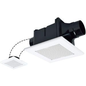 三菱 VD-10ZFC10 ダクト用換気扇 天井埋込形 サニタリー用 二部屋換気用 低騒音形|rakurakumarket