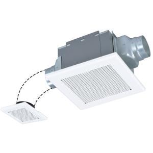 三菱 VD-13ZF10 ダクト用換気扇 天井埋込形 サニタリー用 二部屋換気用 低騒音形|rakurakumarket