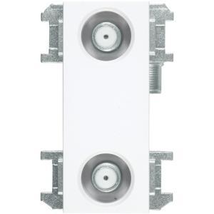 DXアンテナ WU77CP2S 直列ユニット中間用2端子形 (2K・4K・8K対応)|rakurakumarket