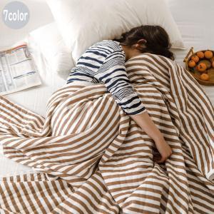 綿ケット シングルサイズ 100*150cm 綿100% 涼しい 肌掛け お昼寝 無地 夏用かけ布団...