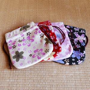 賑桜 ミニ巾着|rakusaicollection