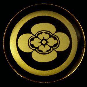 家紋ストラップ《丸に横木瓜》|rakusaicollection