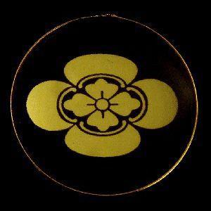 家紋ストラップ《横木瓜》|rakusaicollection