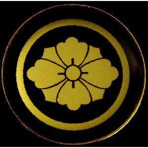 家紋ストラップ《丸に剣花菱》|rakusaicollection