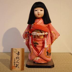 【送料無料!】【松乾斎東光】京製尺二市松人形(女)|rakusaicollection
