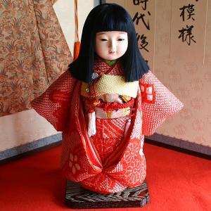 【熊倉聖祥】京製尺二市松人形(女)|rakusaicollection