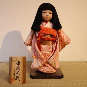 【送料無料!】【創作】京製尺市松人形(女)|rakusaicollection