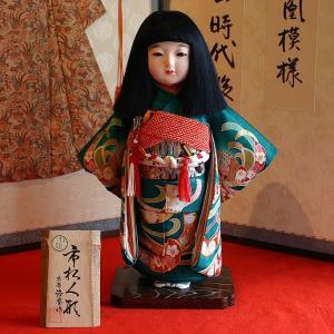【送料無料!】【熊倉聖祥】京製尺二市松人形(女)|rakusaicollection