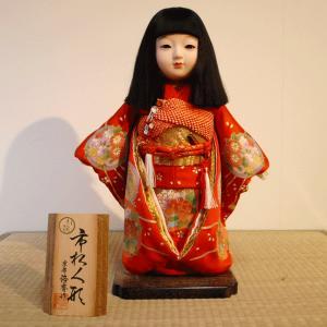 京製尺二市松人形(女)【送料無料!】【熊倉聖祥】|rakusaicollection