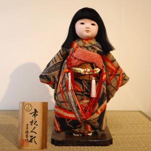京製尺二市松人形(女)【送料無料!】【松乾斎東光】|rakusaicollection