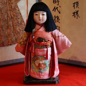 【送料無料!】【熊倉聖祥】京製尺二市松人形(女) rakusaicollection