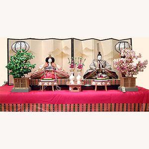【雛人形】京製六番親王飾り|rakusaicollection