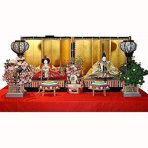 【雛人形】京製七番親王飾り|rakusaicollection