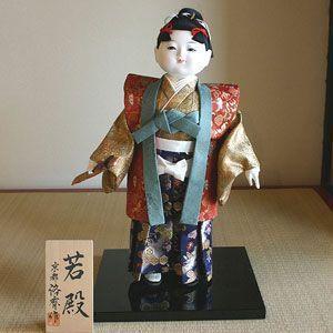 【五月人形】京製衣裳人形 若殿|rakusaicollection
