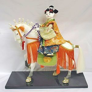 【五月人形】京製衣裳人形 馬乗り|rakusaicollection