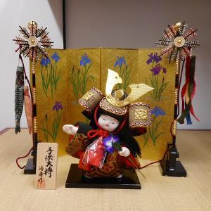 【五月人形】京製木目込人形 子供大将|rakusaicollection