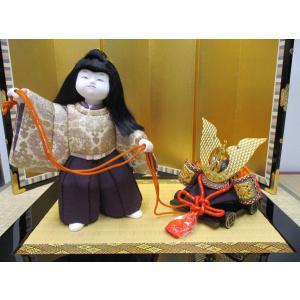 【五月人形】京製木目込人形 兜差し|rakusaicollection