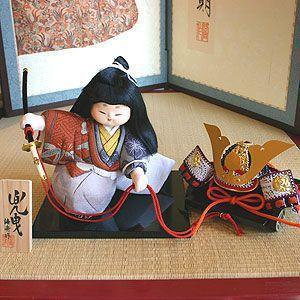 【五月人形】京製木目込人形 兜曳|rakusaicollection