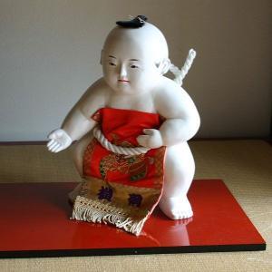 御所人形 相撲 【送料無料!】|rakusaicollection