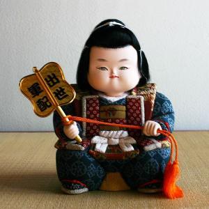 【五月人形】京製木目込人形 出世軍配 【送料無料!】|rakusaicollection