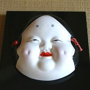 御所人形 面(お福)|rakusaicollection