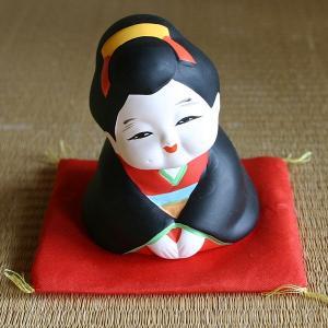 陶器 お福さん-いらっしゃいませ-|rakusaicollection