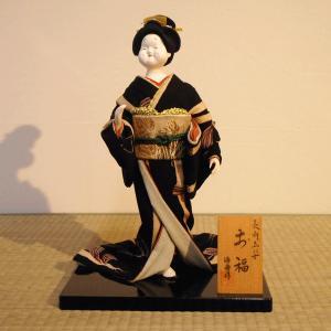 人形【送料無料!】京製創作人形 お福 【立姿】|rakusaicollection