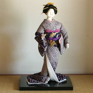 【送料無料!】京製創作人形 お福 【立姿】|rakusaicollection