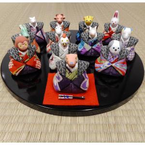【送料無料!】京製木目込人形 十二支|rakusaicollection