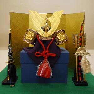 五月人形 兜飾り(弓・太刀付き)|rakusaicollection