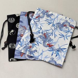 巾着袋 和柄 綿【メール便可能!】|rakusaicollection