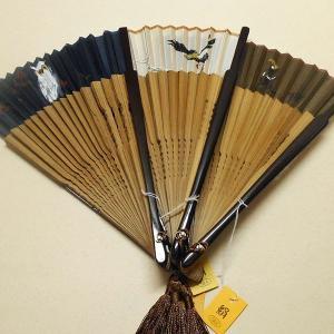扇子  京扇子(絹張り)【手描き】 【メール便可能!】|rakusaicollection