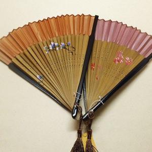 扇子 京扇子(絹張り) 【メール便可能!】|rakusaicollection