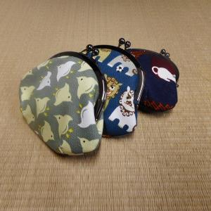 帆布 がま口(3.5寸)|rakusaicollection