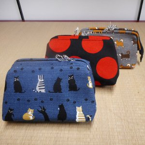 帆布 ワイヤーポーチ|rakusaicollection