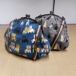 帆布 がま口 バッグ|rakusaicollection