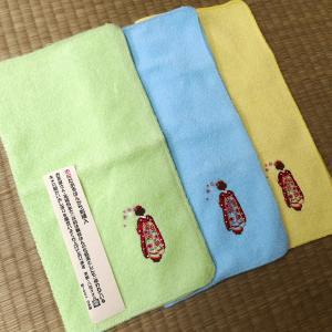 刺繍タオルハンカチ【メール便無料!】【在庫限り】|rakusaicollection