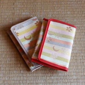 【茶道具】茶巾入(雪月花)|rakusaicollection